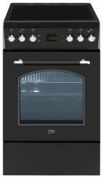Электроплита Beko CSE 57300 60 л (стеклокерамика,конвекция, гриль, таймер, очистка духовки паром)